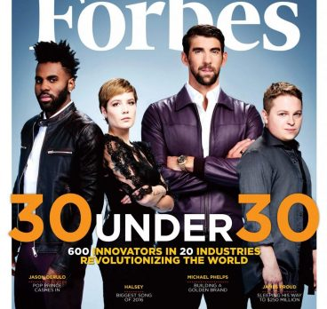 """JASON DERULO, JAKE ROSENBERG, AND MIKE GEORGE ARE FORBES """"30 UNDER 30"""""""
