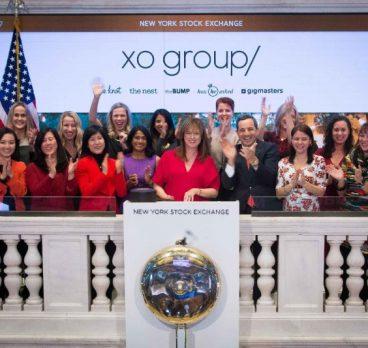 XO GROUP RINGS NYSE CLOSING BELL