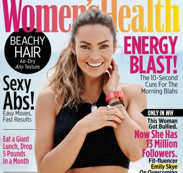 Emily Skye is on the Cover of Women's Health July/August Issue