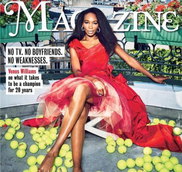 Venus Williams Featured on Cover of The Times Magazine