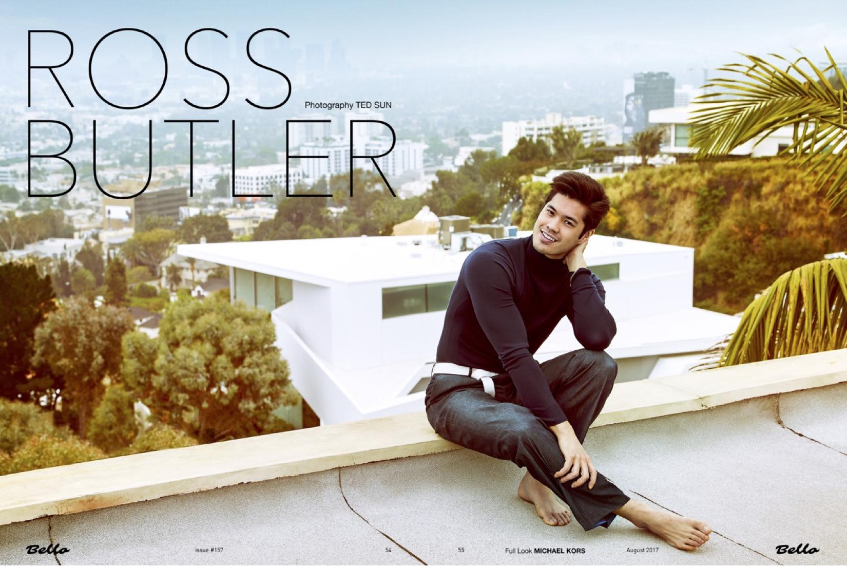 Ross Butler Bello Magazine Cover Story