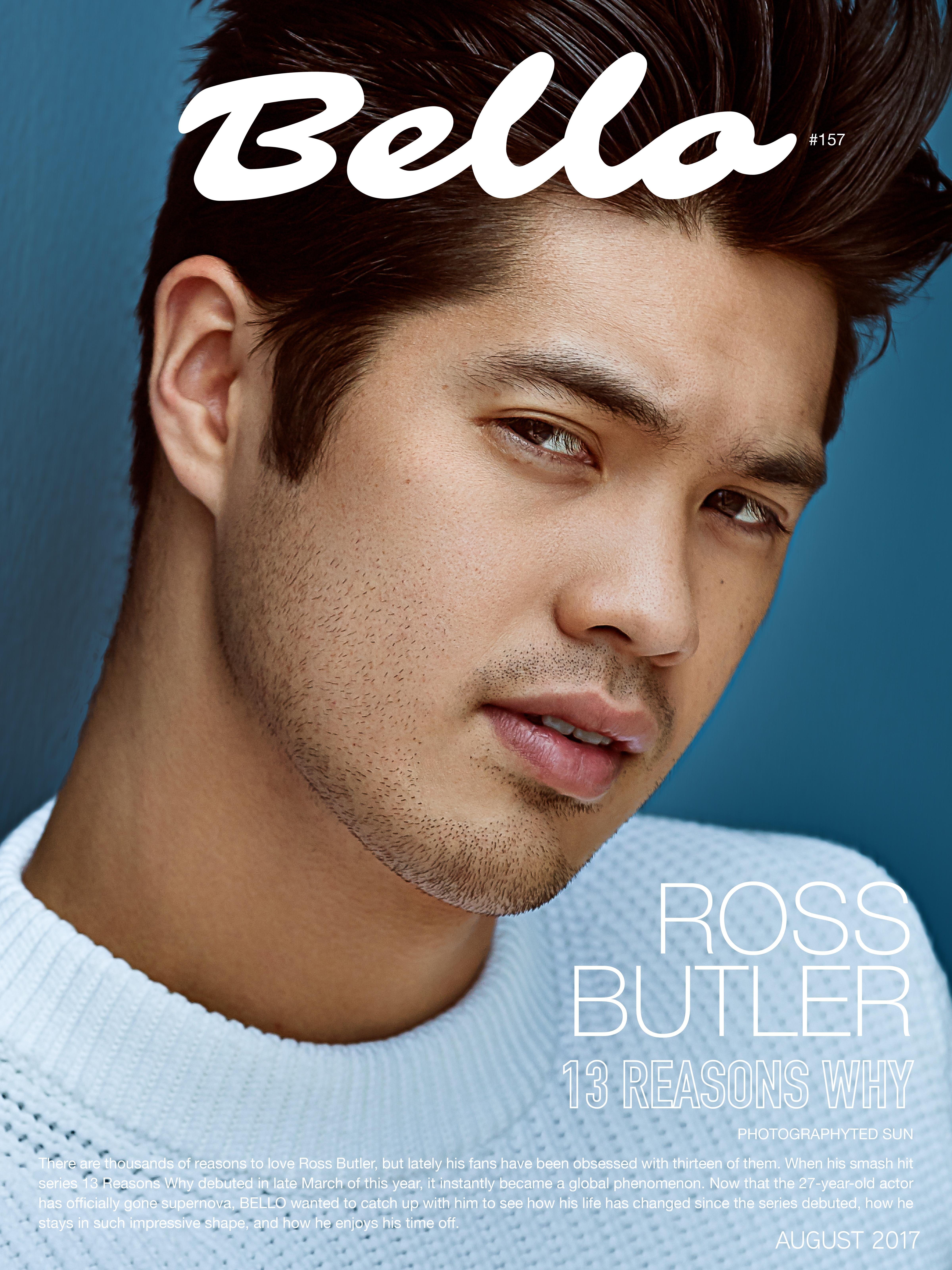 Ross Butler Bello Magazine Cover
