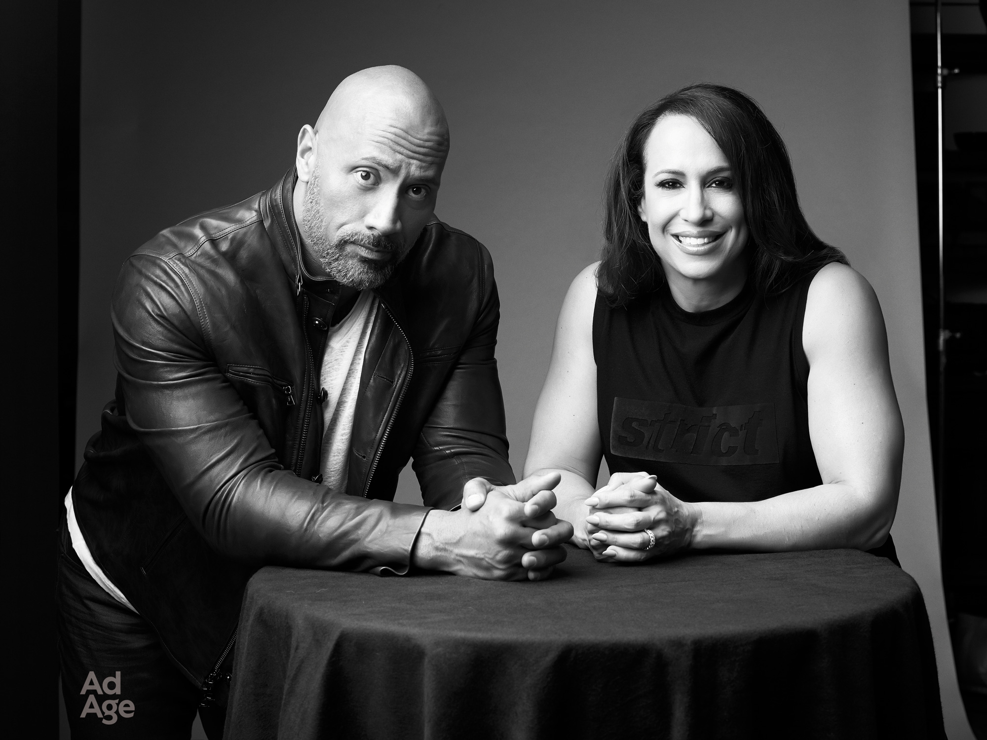 Dany Garcia and Dwayne 'The Rock' Johnson launch Seven Bucks Creative.
