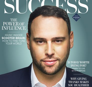 Scooter Braun Covers SUCCESS Magazine