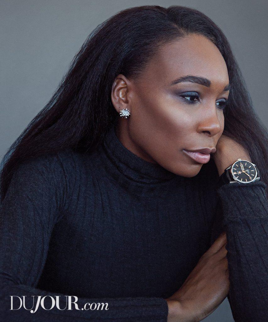 Venus Williams for DuJour December