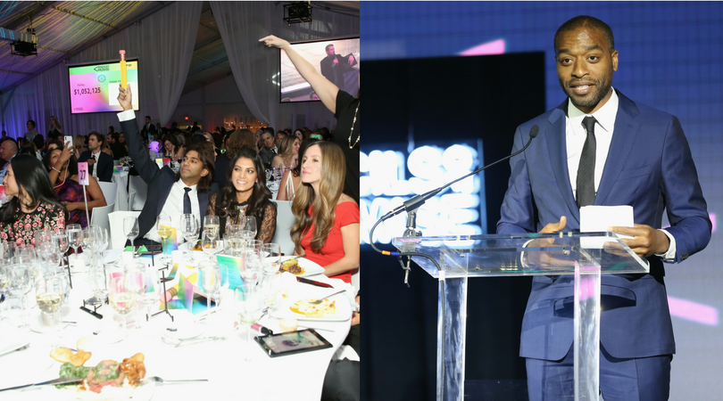 Chiwetel Ejiofor attends the Pencils of Promise Annual Gala 2017
