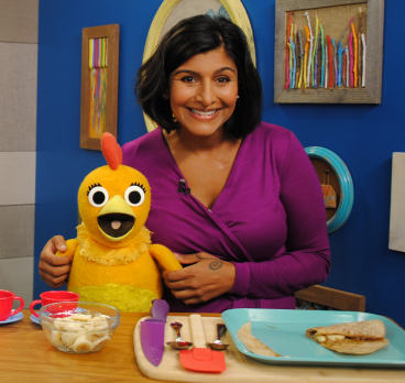 Happy Family Founder Shazi Visram Promotes Cookbook on Sprout's Sunny Side Up