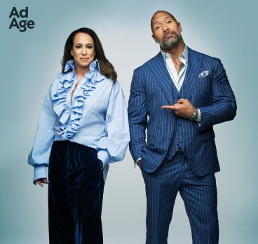 Dany Garcia and Dwayne Johnson Cover Ad Age