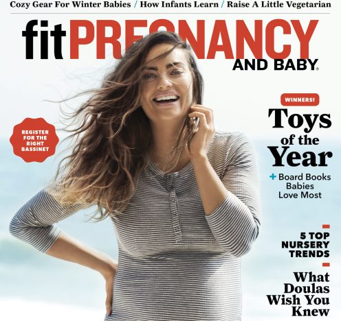 Fit Pregnancy Reveals December/January Issue Featuring Emily Skye