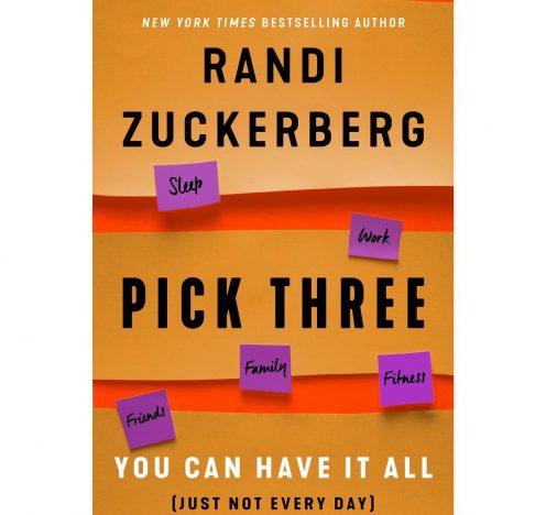 """Randi Zuckerberg Launches New Book, """"Pick Three"""""""