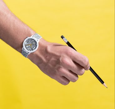 Pencils of Promise Reveals Collaboration with Guess Watches and Artist Timothy Goodman
