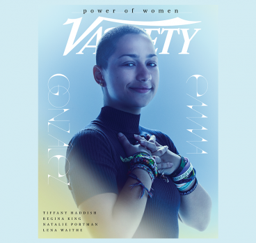 "Emma González Covers Variety's ""Power of Women"" Issue"