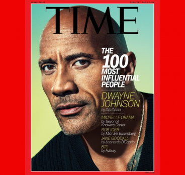 TIME 100: Dwayne Johnson Covers TIME's Most Influential People Issue