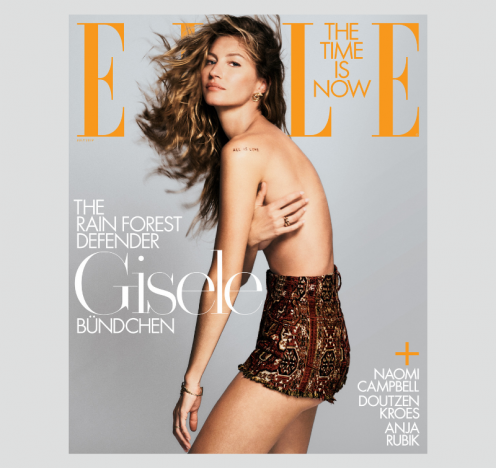Gisele Bündchen Covers ELLE's 'Conservation' Issue