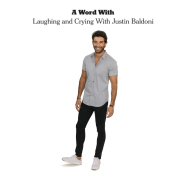 Justin Baldoni featured in the New York Times