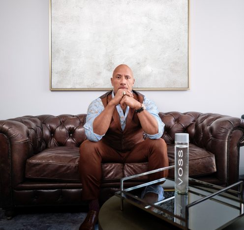 Dwayne Johnson & Voss Water Launch Strategic Partnership