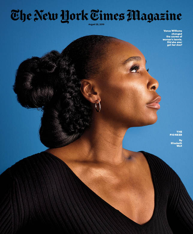 Venus WIlliams Featured on the Cover of New York Times Magazine