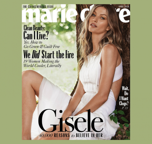 Gisele Covers Marie Claire's 2020 Changemakers Issue