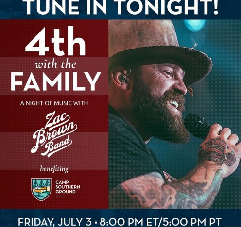 Zac Brown Band's 4th With the Family Stream