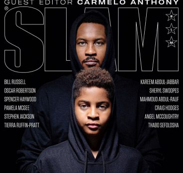 Carmelo Anthony – SLAM Magazine Cover + Guest Editor