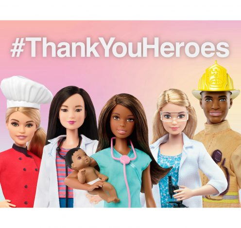 Barbie Launches #ThankYouHeroes
