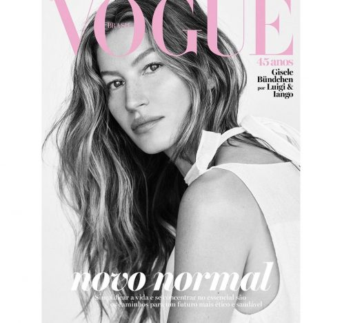 Gisele Covers the Vogue Brasil April Issue