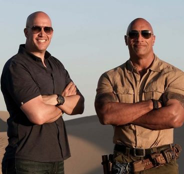 What It's Like to Photograph Dwayne Johnson for 20 Years